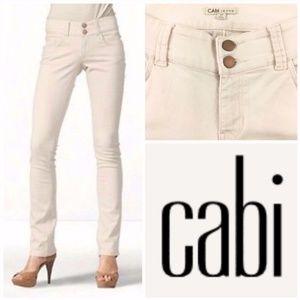 CAbi Lou Lou straight leg jeans style $874